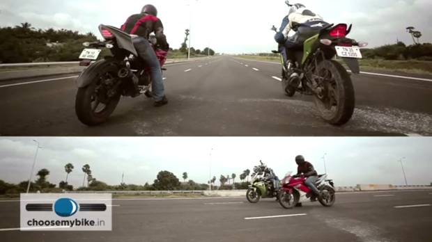 CBR 150 VS R15 rezaholic start